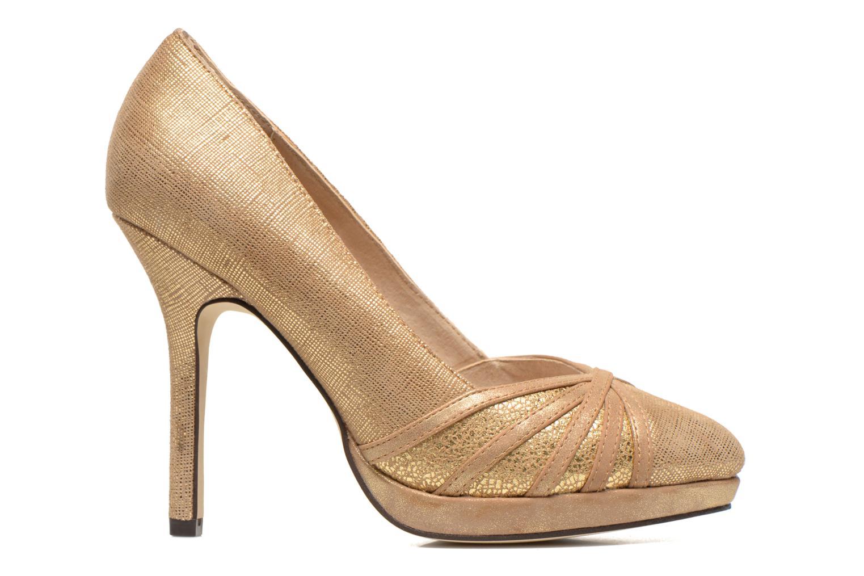 Zapatos de tacón Menbur Lisle Oro y bronce vistra trasera