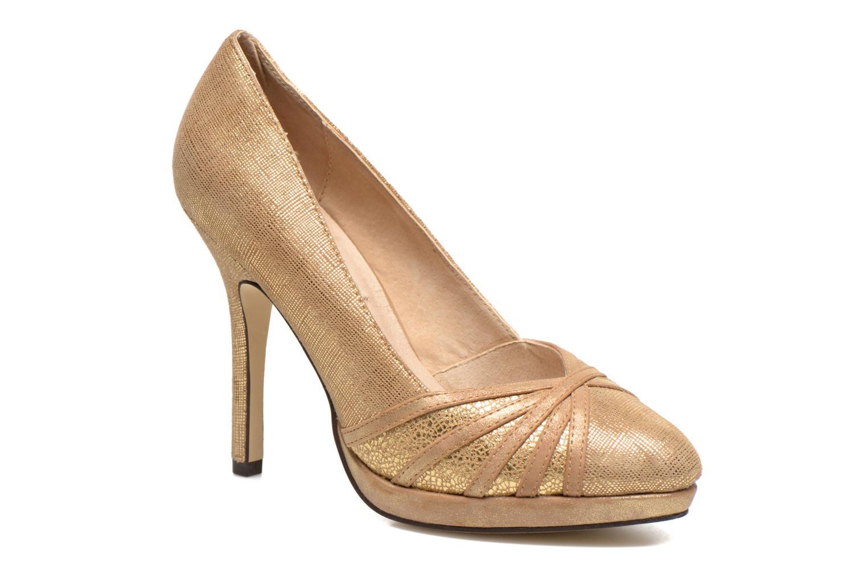 Zapatos de tacón Menbur Lisle Oro y bronce vista de detalle / par