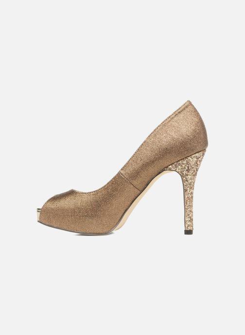 Zapatos de tacón Menbur Bailen Marrón vista de frente