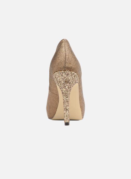 Zapatos de tacón Menbur Bailen Marrón vista lateral derecha