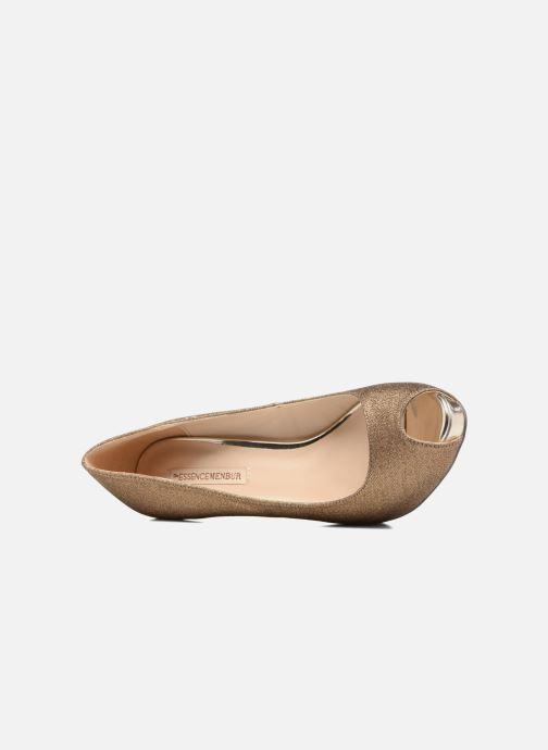 Zapatos de tacón Menbur Bailen Marrón vista lateral izquierda
