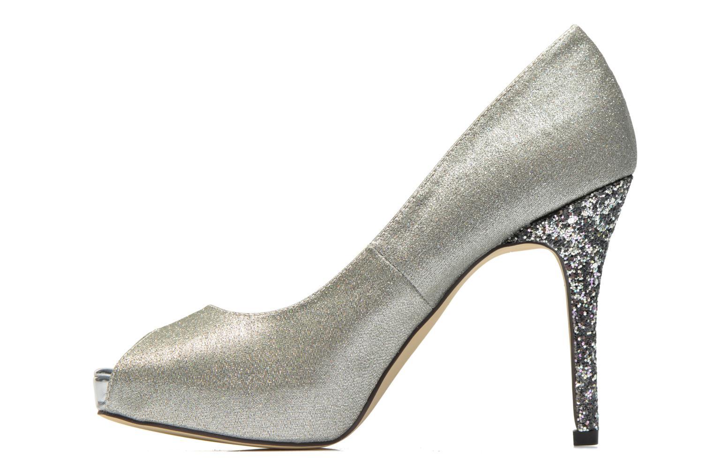 High heels Menbur Bailen Silver front view
