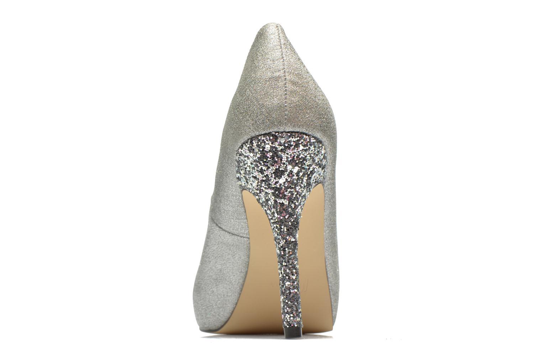 High heels Menbur Bailen Silver view from the right