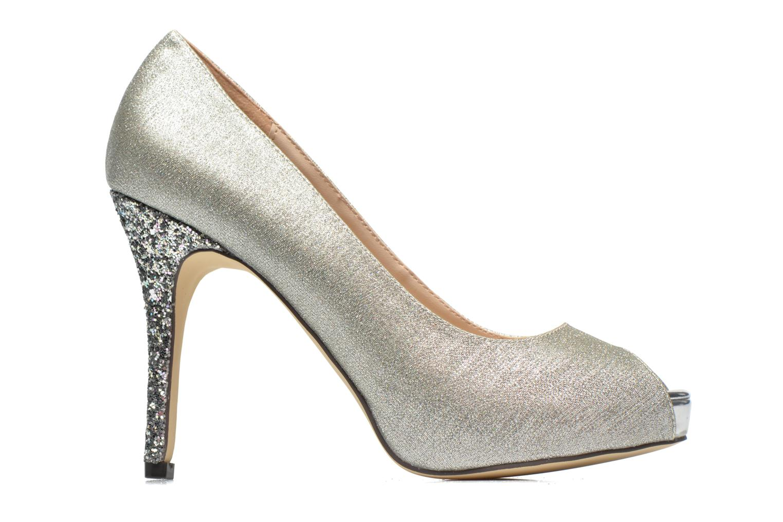 High heels Menbur Bailen Silver back view