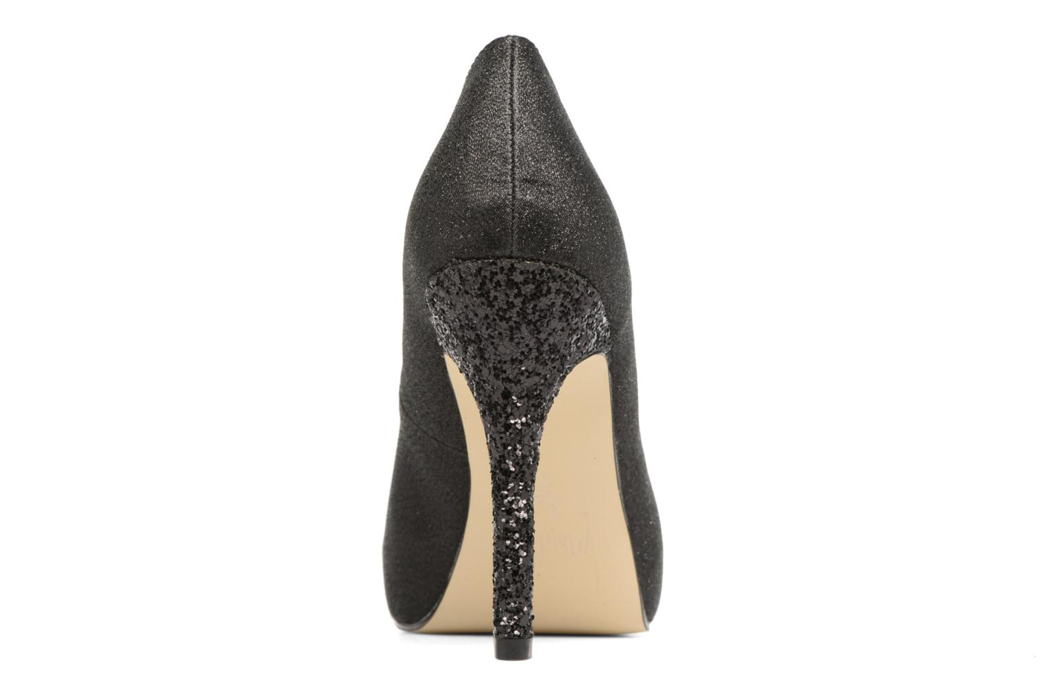 High heels Menbur Bailen Black view from the right