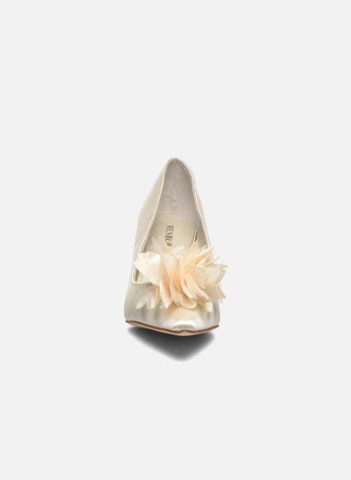 Escarpins Menbur Yves Blanc vue portées chaussures