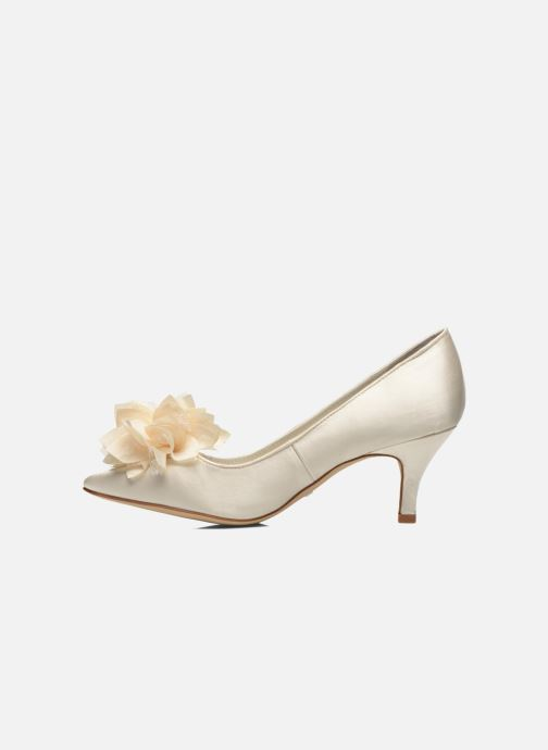High heels Menbur Yves White front view
