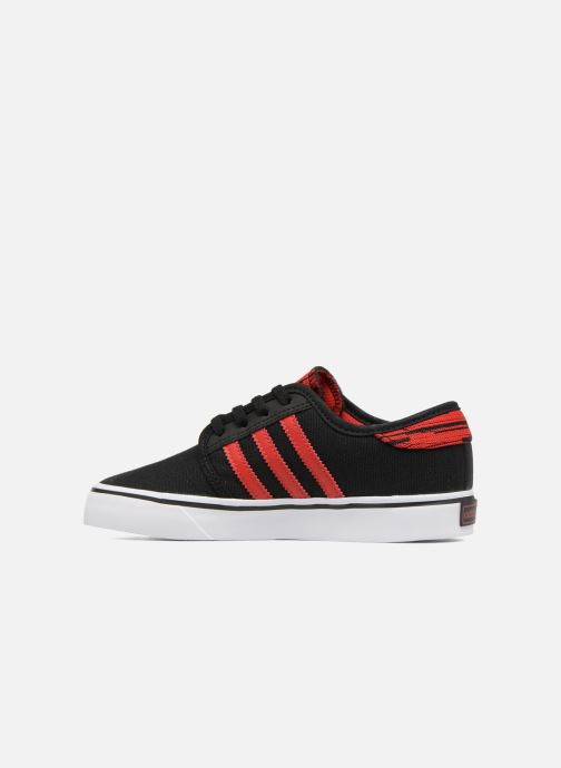 Trainers adidas originals Seeley J Black front view