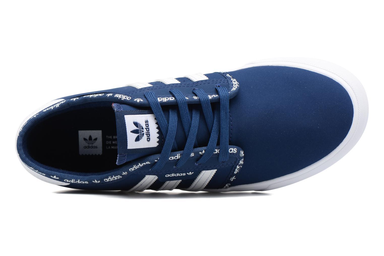 Baskets Adidas Originals Seeley J Bleu vue gauche