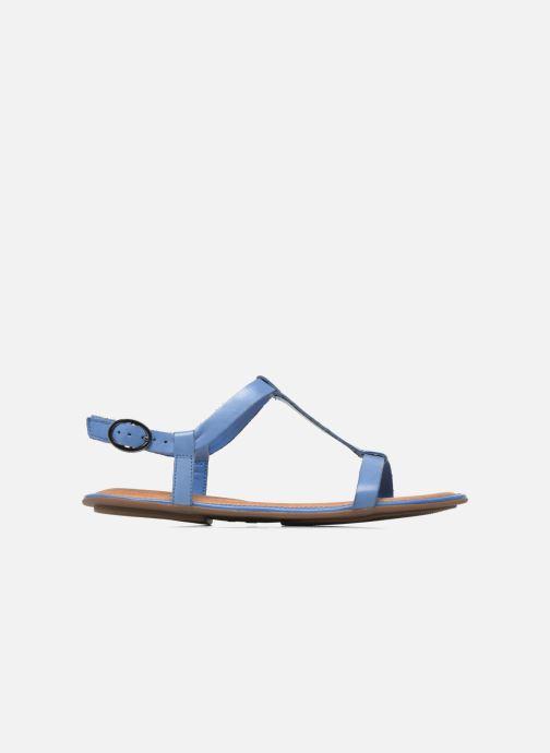 Sandales et nu-pieds Clarks Risi Hop Bleu vue derrière