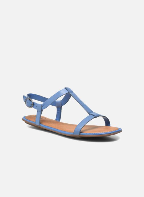 Risi Leather Blue Clarks Clarks Hop E29IWDH