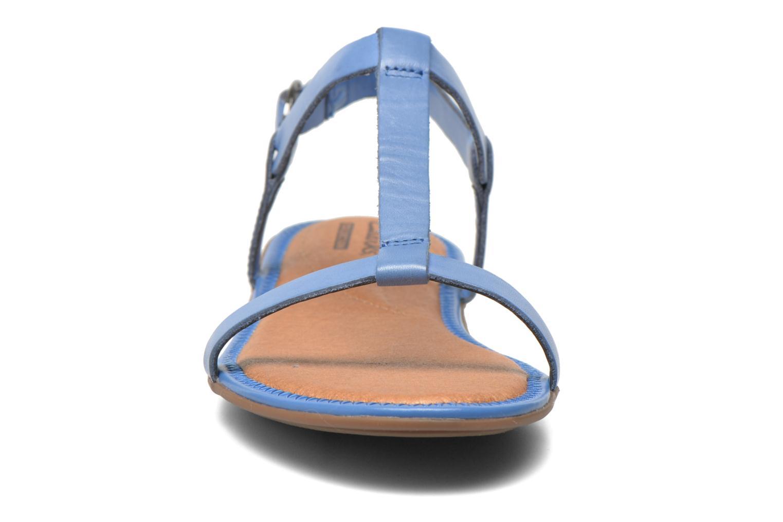 Sandales et nu-pieds Clarks Risi Hop Bleu vue portées chaussures