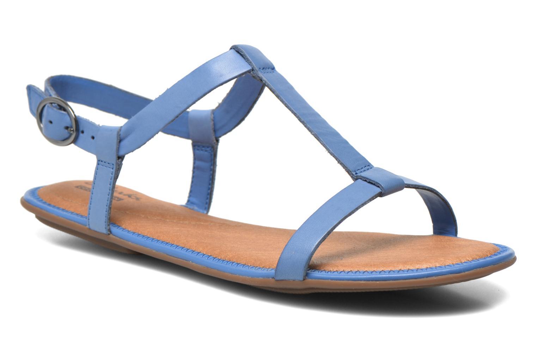 Sandales et nu-pieds Clarks Risi Hop Bleu vue détail/paire