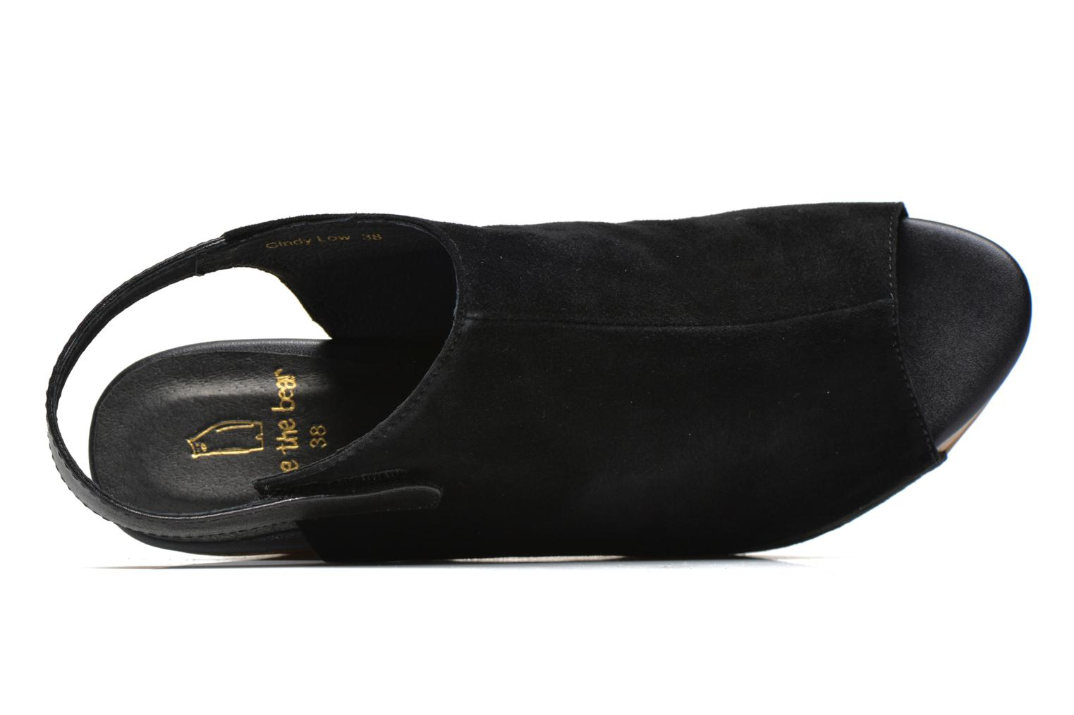 Sandals Clarks Delsie Kala Black view from the left