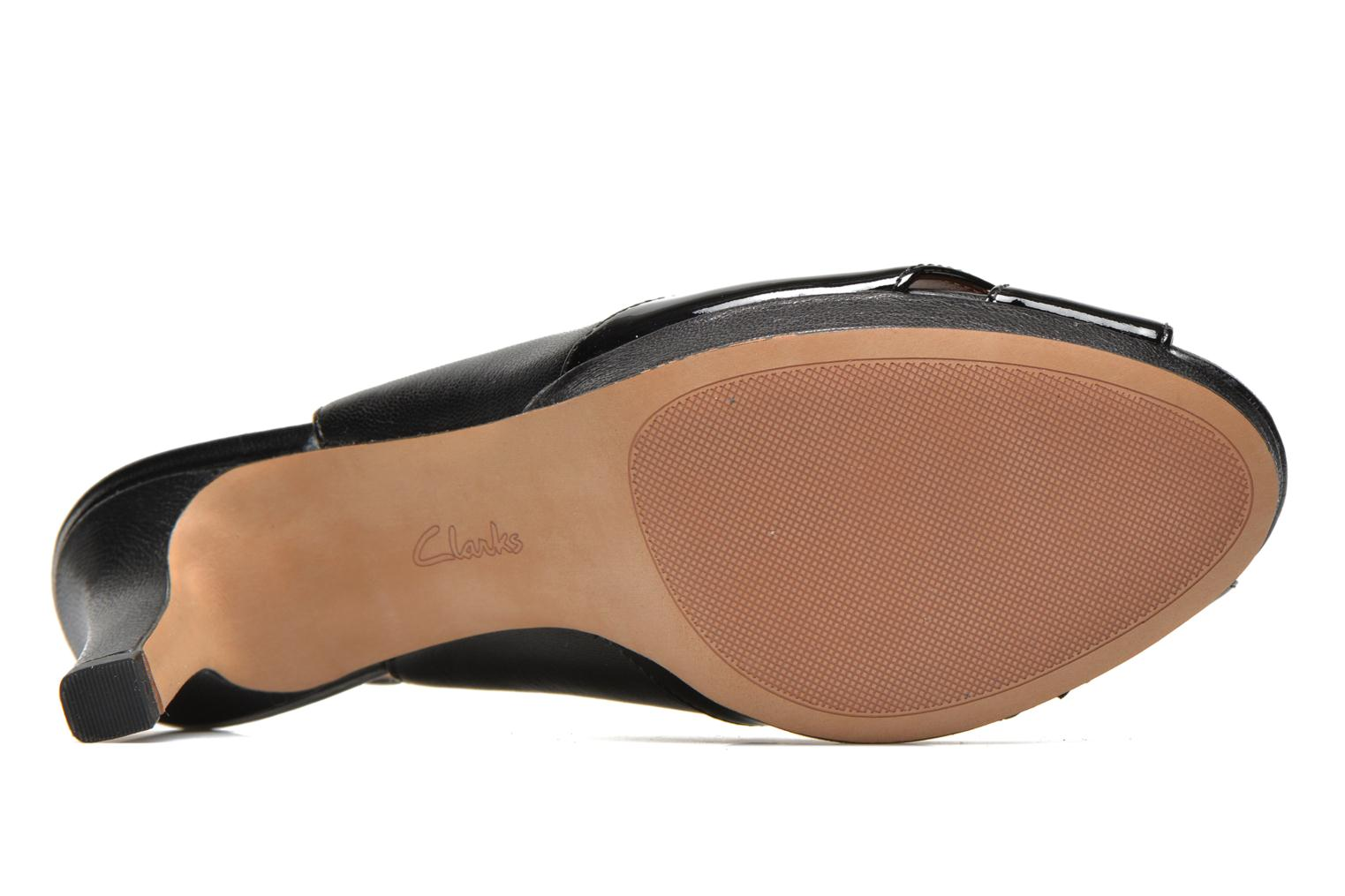 Sandals Clarks Delsie Kala Black view from above