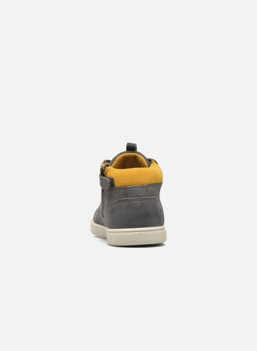 Baskets Timberland Groveton Leather Chukka Gris vue droite