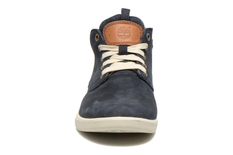 Sneakers Timberland Groveton Leather Chukka Blauw model