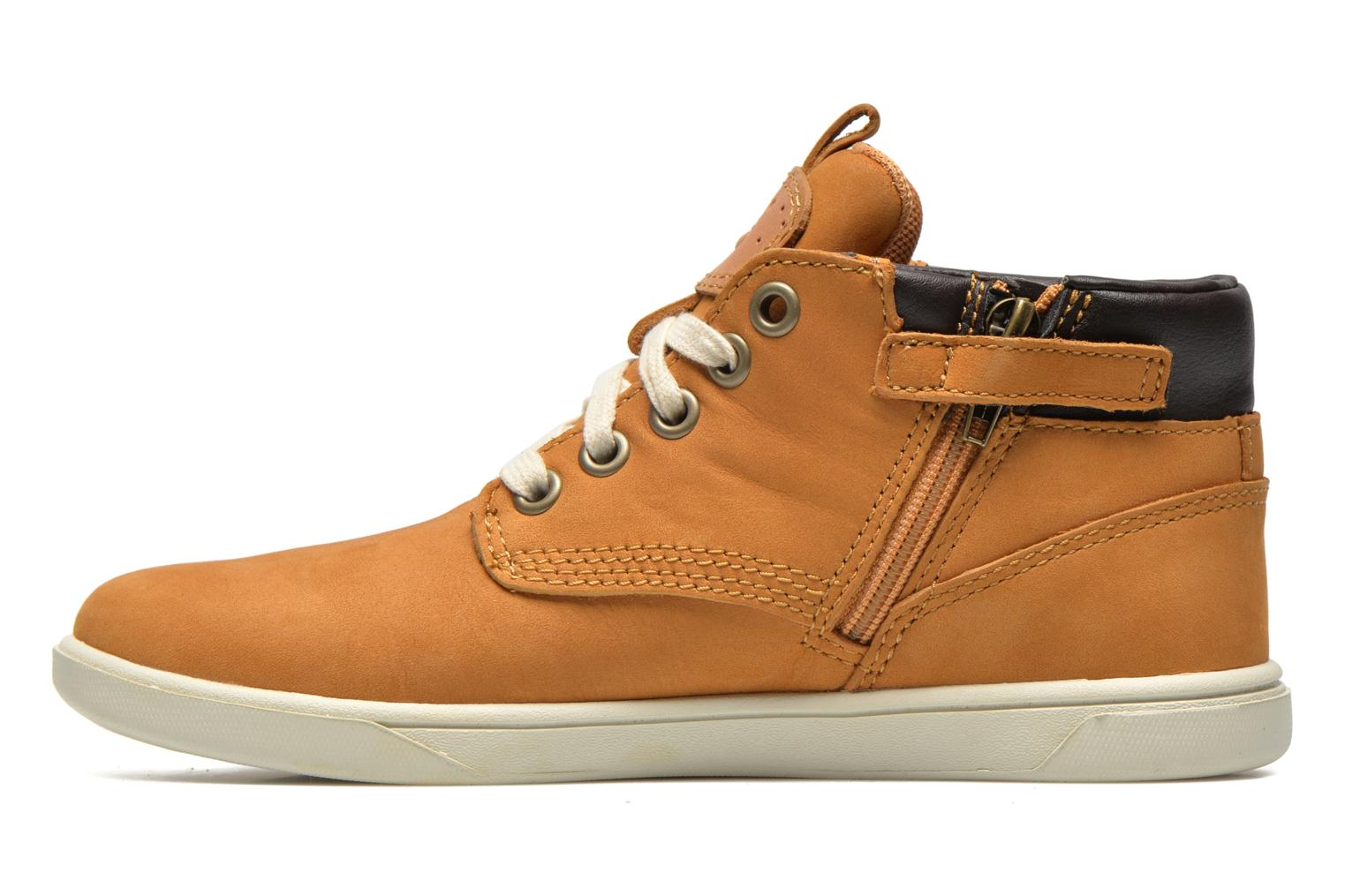Sneakers Timberland Groveton Leather Chukka Beige immagine frontale