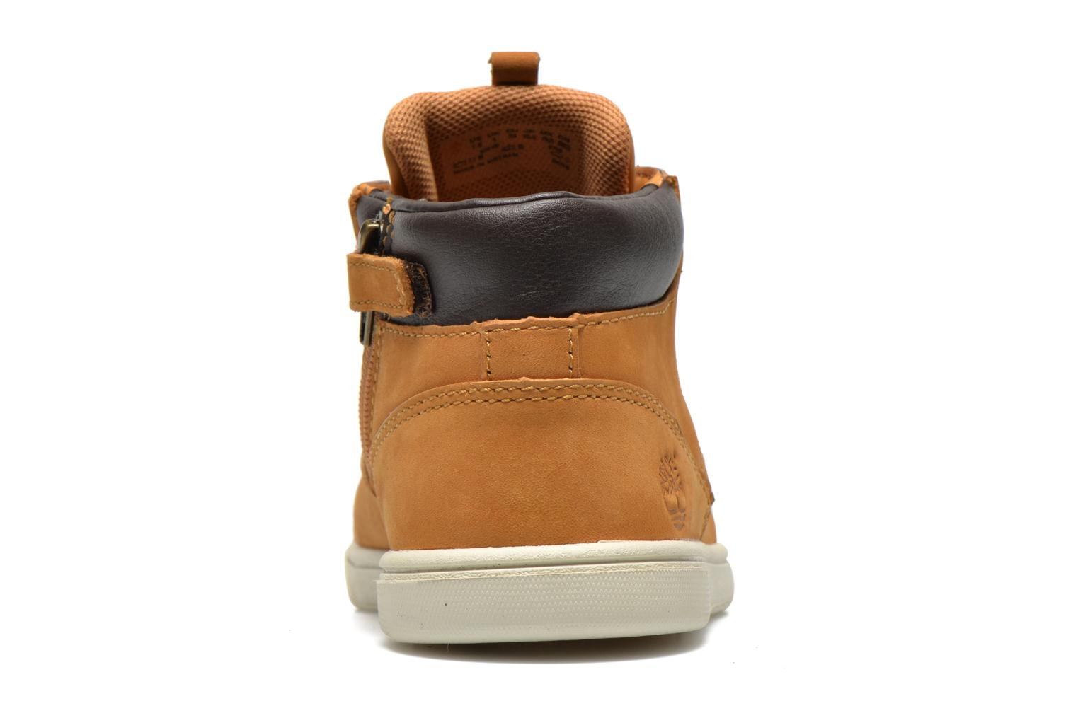 Baskets Timberland Groveton Leather Chukka Beige vue droite