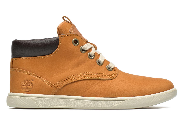 Sneakers Timberland Groveton Leather Chukka Beige immagine posteriore