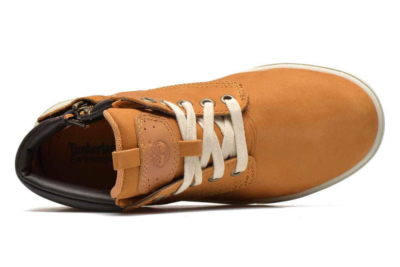 Sneakers Timberland Groveton Leather Chukka Beige immagine sinistra