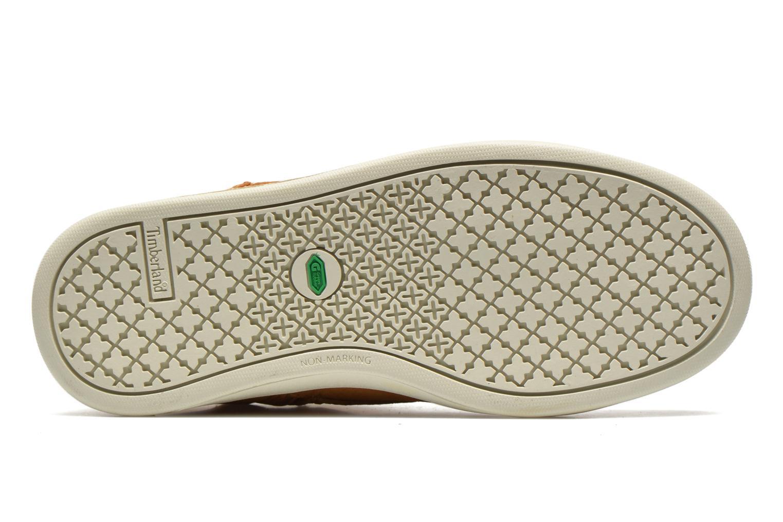 Sneakers Timberland Groveton Leather Chukka Beige immagine dall'alto