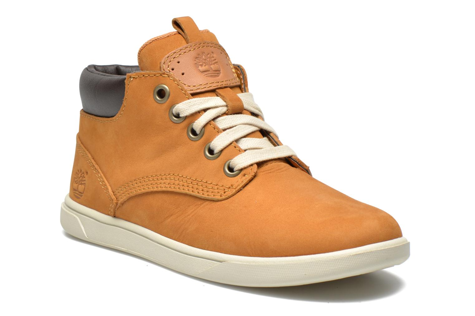 Baskets Timberland Groveton Leather Chukka Beige vue détail/paire