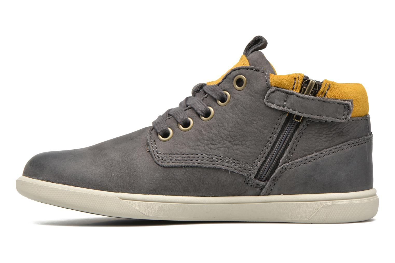 Baskets Timberland Groveton Leather Chukka Gris vue face