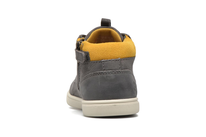 Baskets Timberland Groveton Leather Chukka Gris vue droite