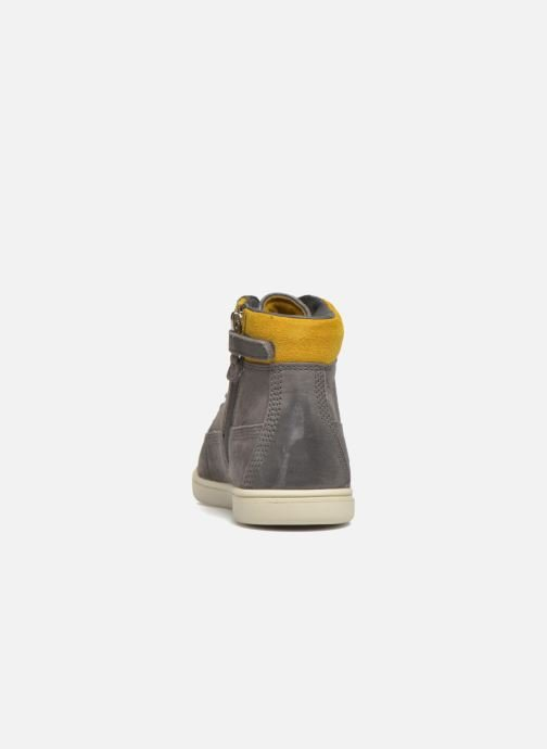 Botines  Timberland Groveton 6In Lace with si Gris vista lateral derecha