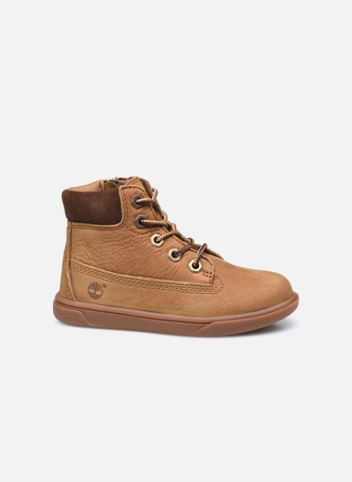 Botines  Timberland Groveton 6In Lace with si Marrón vistra trasera