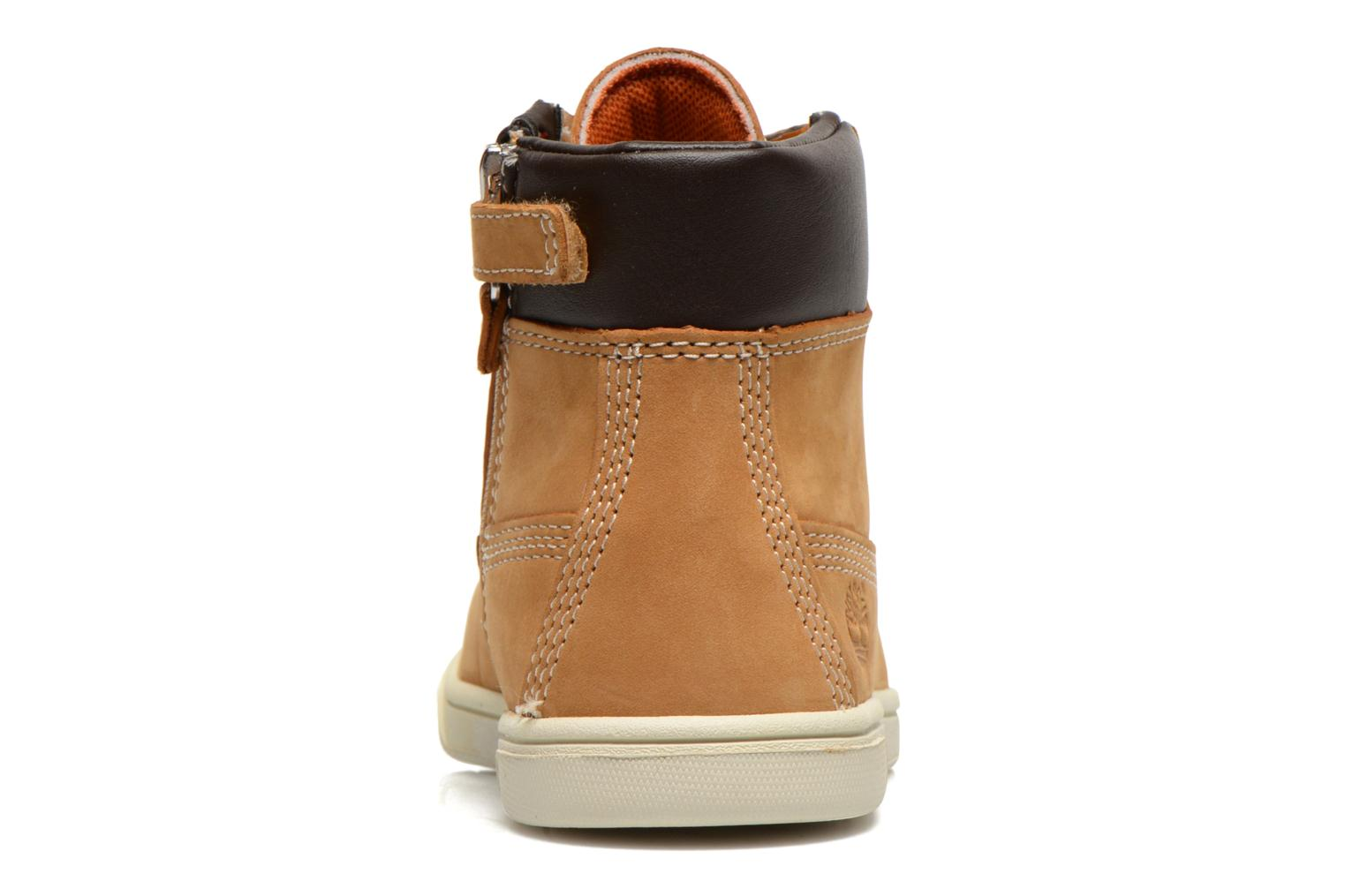 Ankle boots Timberland Groveton 6In Lace with si Beige view from the right
