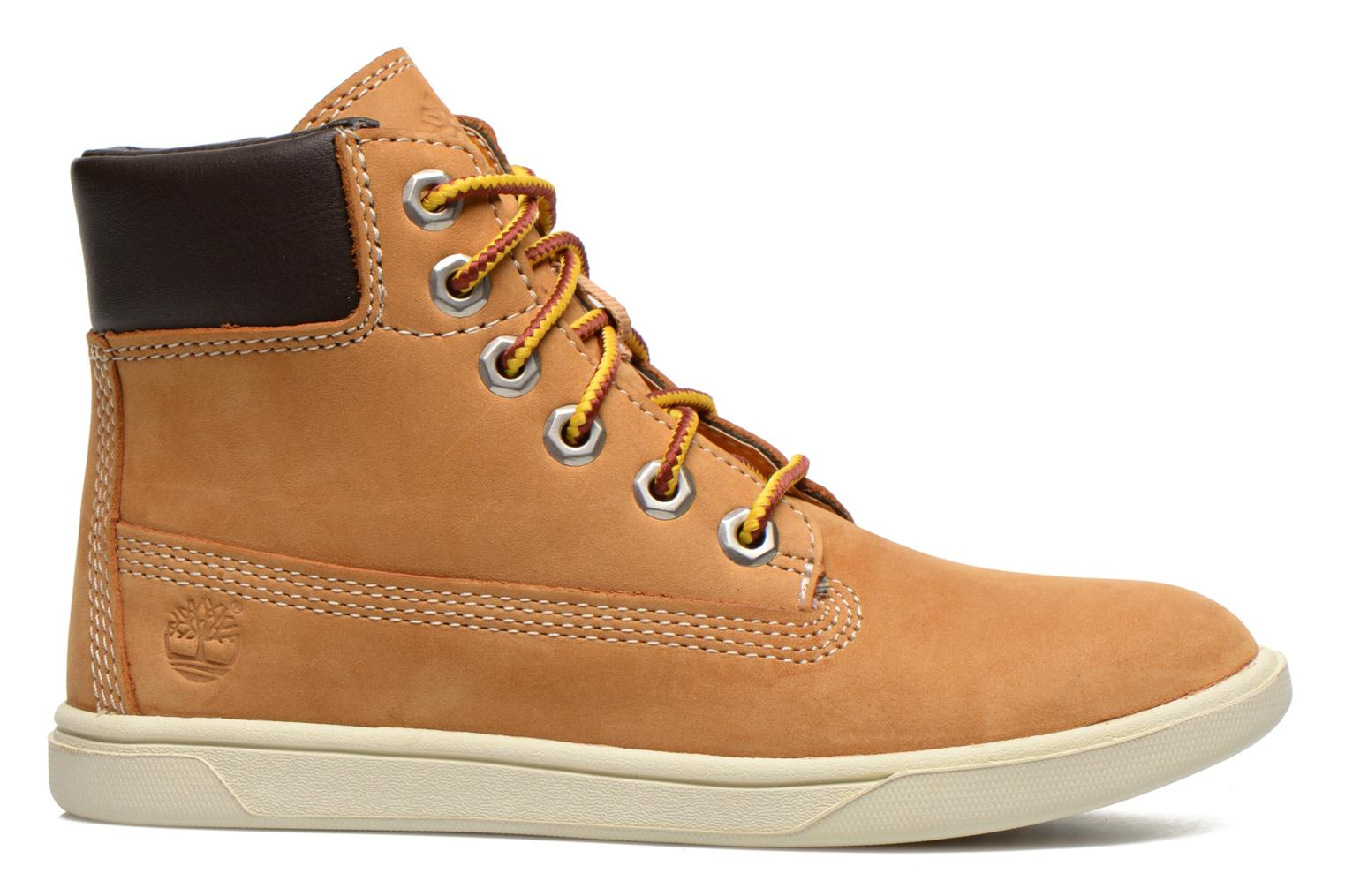Botines  Timberland Groveton 6In Lace with si Beige vistra trasera