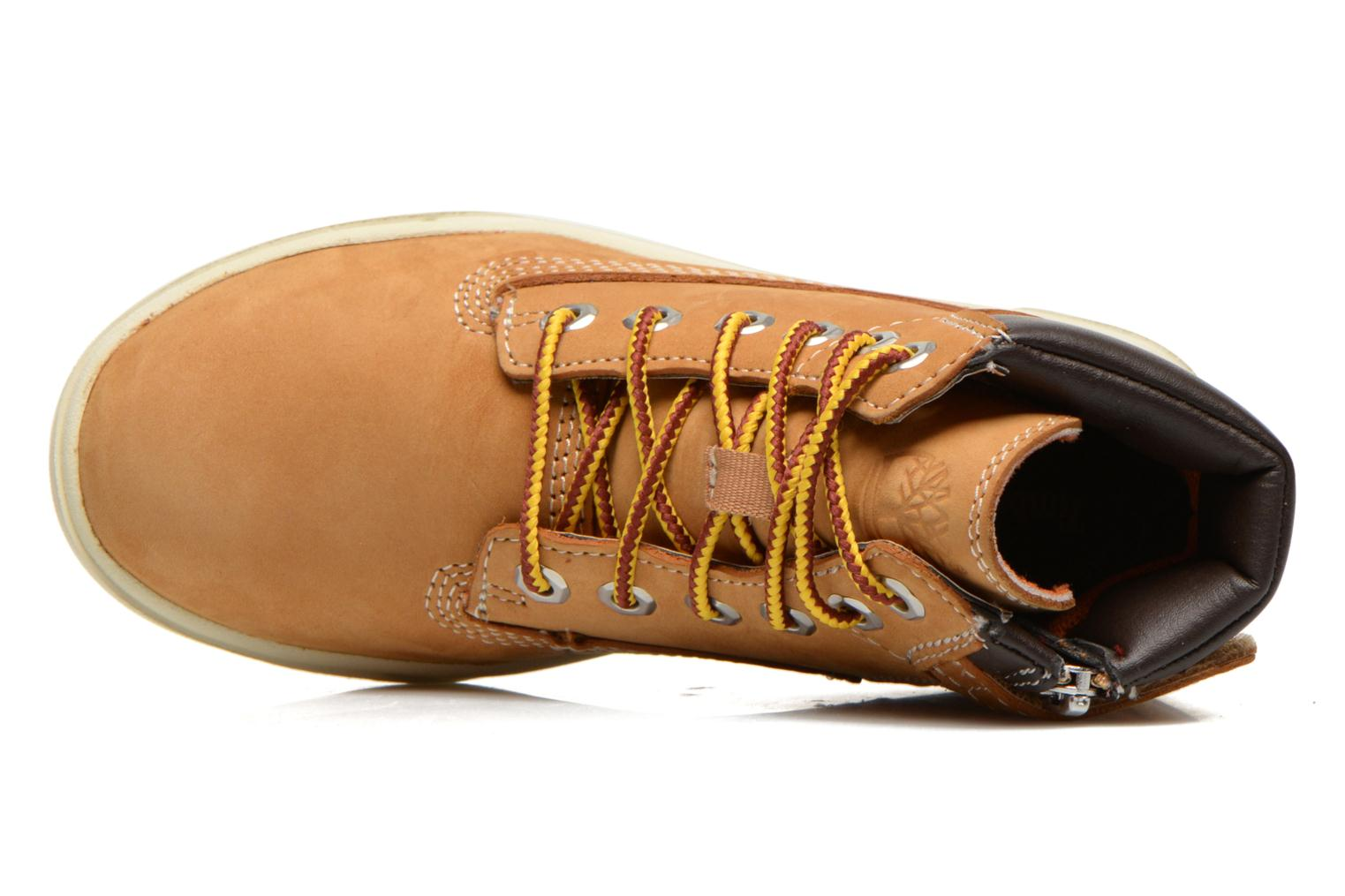 Boots en enkellaarsjes Timberland Groveton 6In Lace with si Beige links