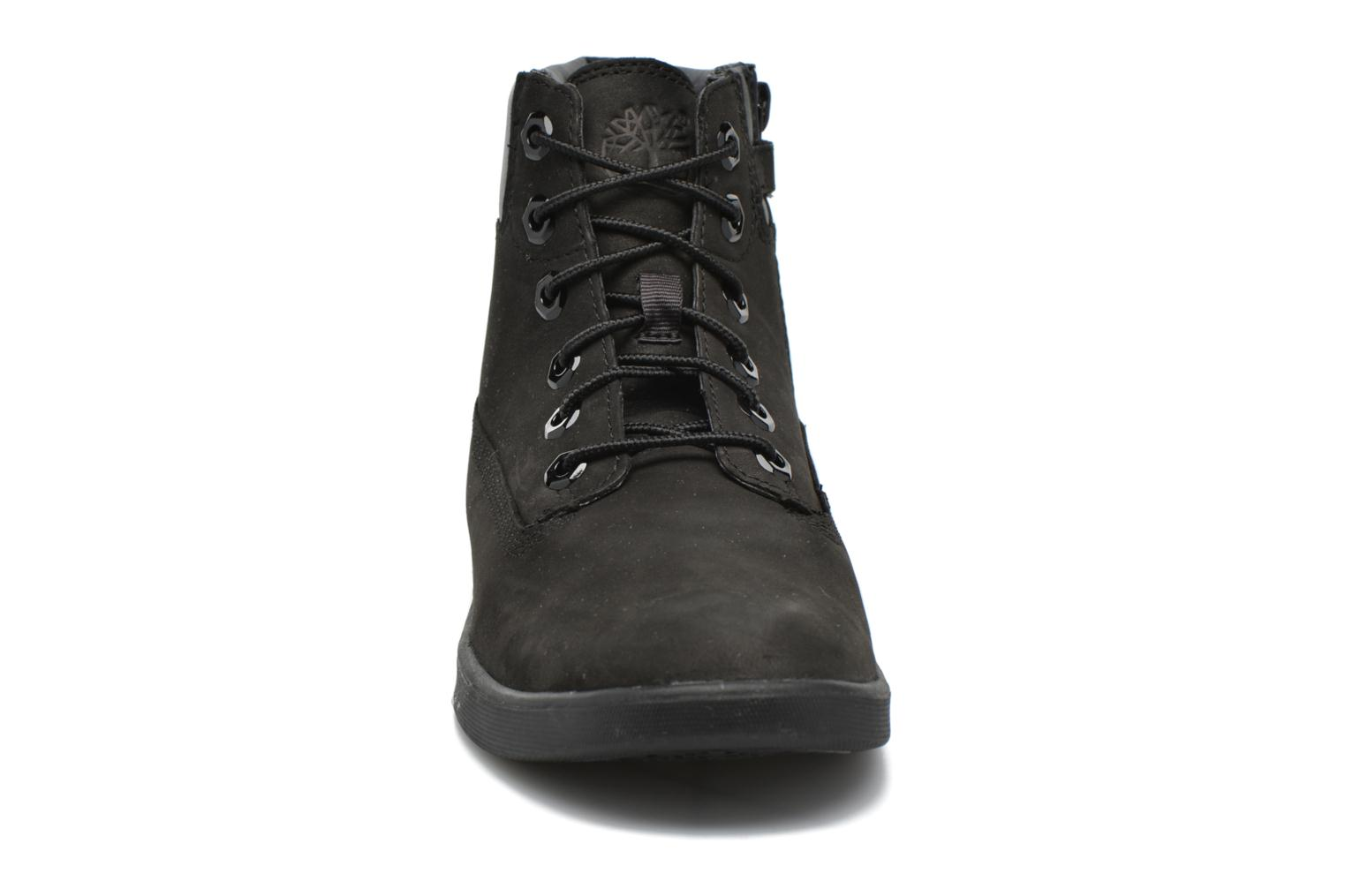 Botines  Timberland Groveton 6In Lace with si Negro vista del modelo