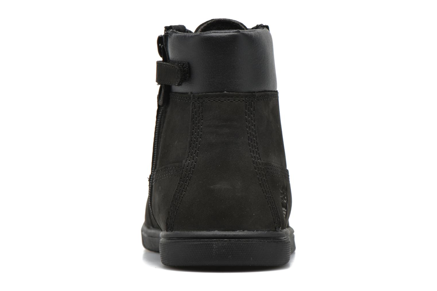 Botines  Timberland Groveton 6In Lace with si Negro vista lateral derecha