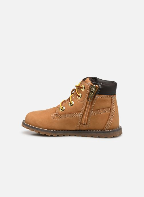Stivaletti e tronchetti Timberland Pokey Pine 6In Boot with Beige immagine frontale