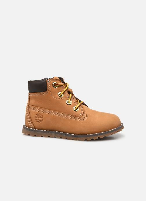 Botines  Timberland Pokey Pine 6In Boot with Beige vistra trasera