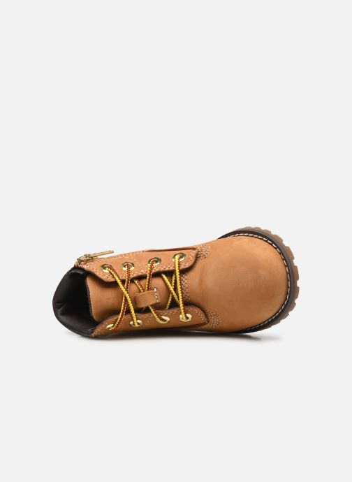 Stivaletti e tronchetti Timberland Pokey Pine 6In Boot with Beige immagine sinistra