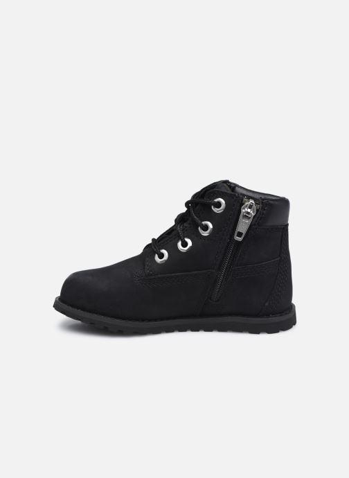 Boots en enkellaarsjes Timberland Pokey Pine 6In Boot with Zwart voorkant