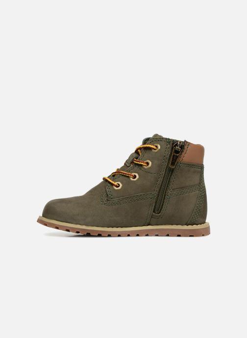 Boots en enkellaarsjes Timberland Pokey Pine 6In Boot with Groen voorkant