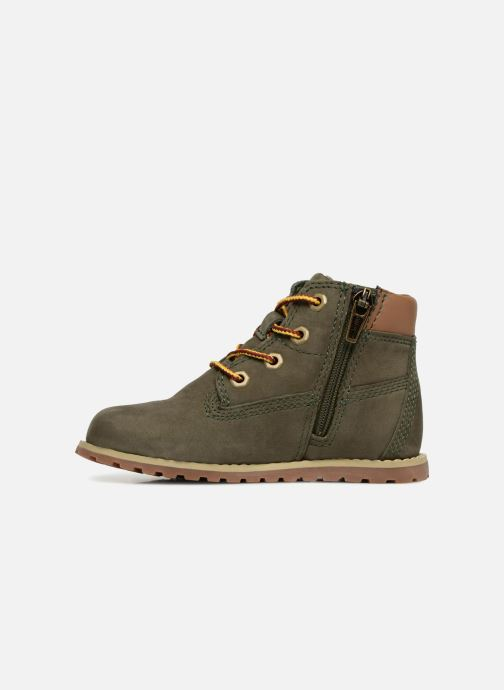 Botines  Timberland Pokey Pine 6In Boot with Verde vista de frente