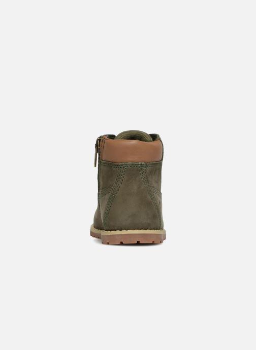 Boots en enkellaarsjes Timberland Pokey Pine 6In Boot with Groen rechts