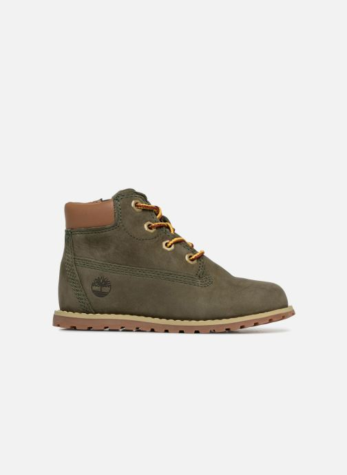 Botines  Timberland Pokey Pine 6In Boot with Verde vistra trasera