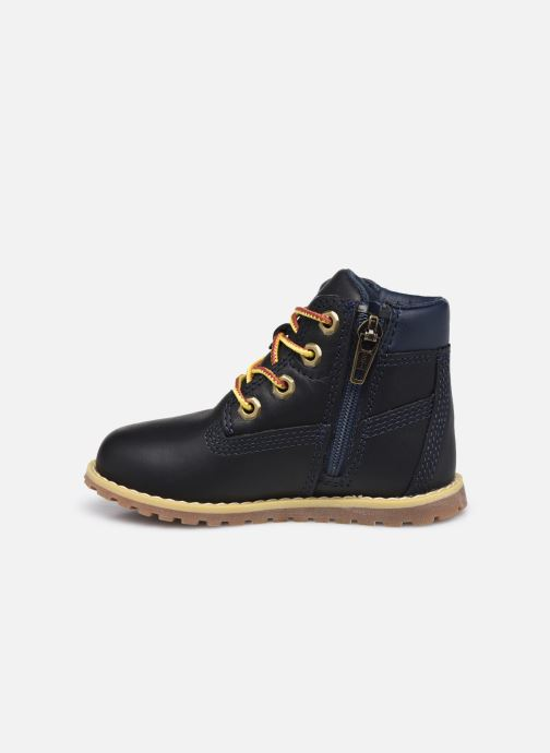 Botines  Timberland Pokey Pine 6In Boot with Negro vista de frente