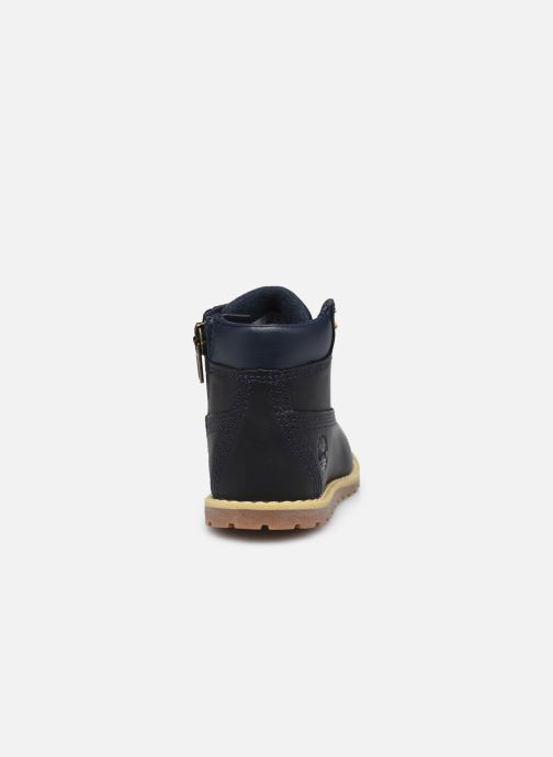 Botines  Timberland Pokey Pine 6In Boot with Negro vista lateral derecha