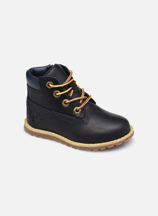 Botines  Timberland Pokey Pine 6In Boot with Negro vista de detalle / par