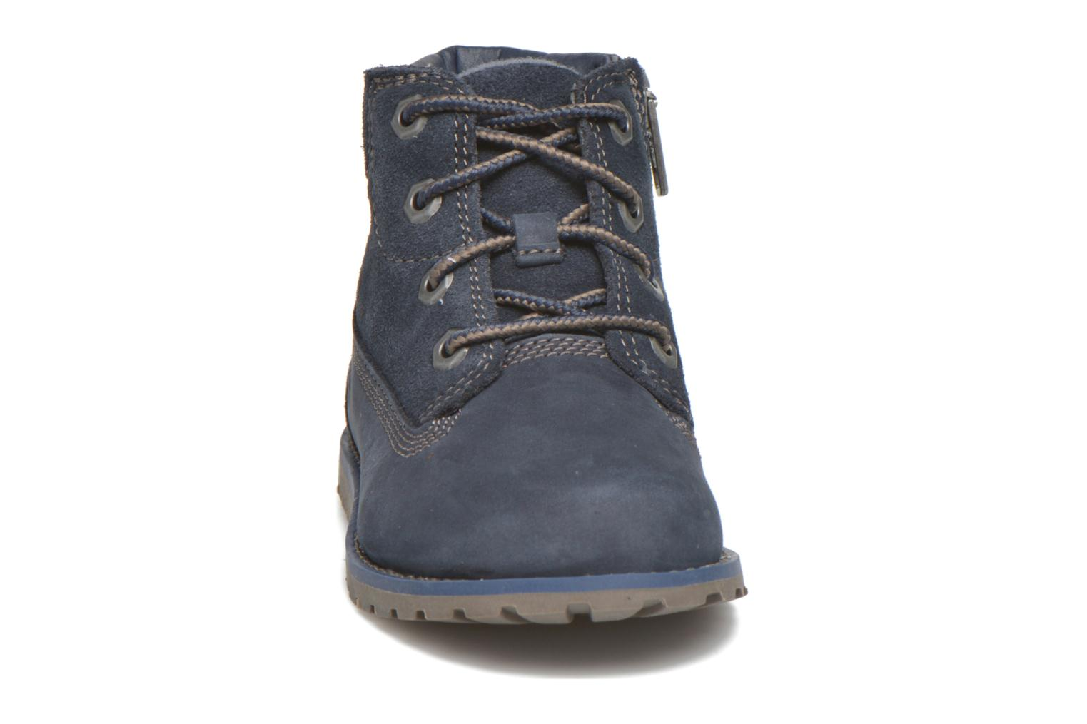 Bottines et boots Timberland Pokey Pine 6In Boot with Bleu vue portées chaussures