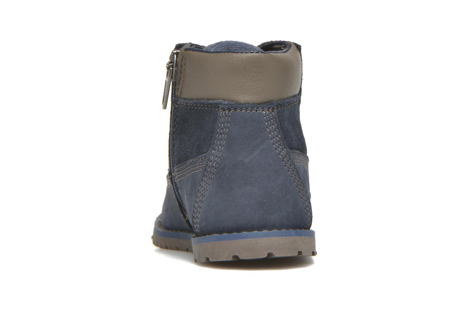 Bottines et boots Timberland Pokey Pine 6In Boot with Bleu vue droite