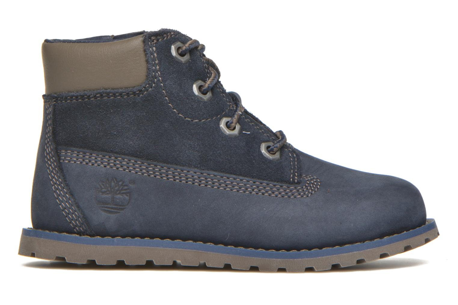 Bottines et boots Timberland Pokey Pine 6In Boot with Bleu vue derrière